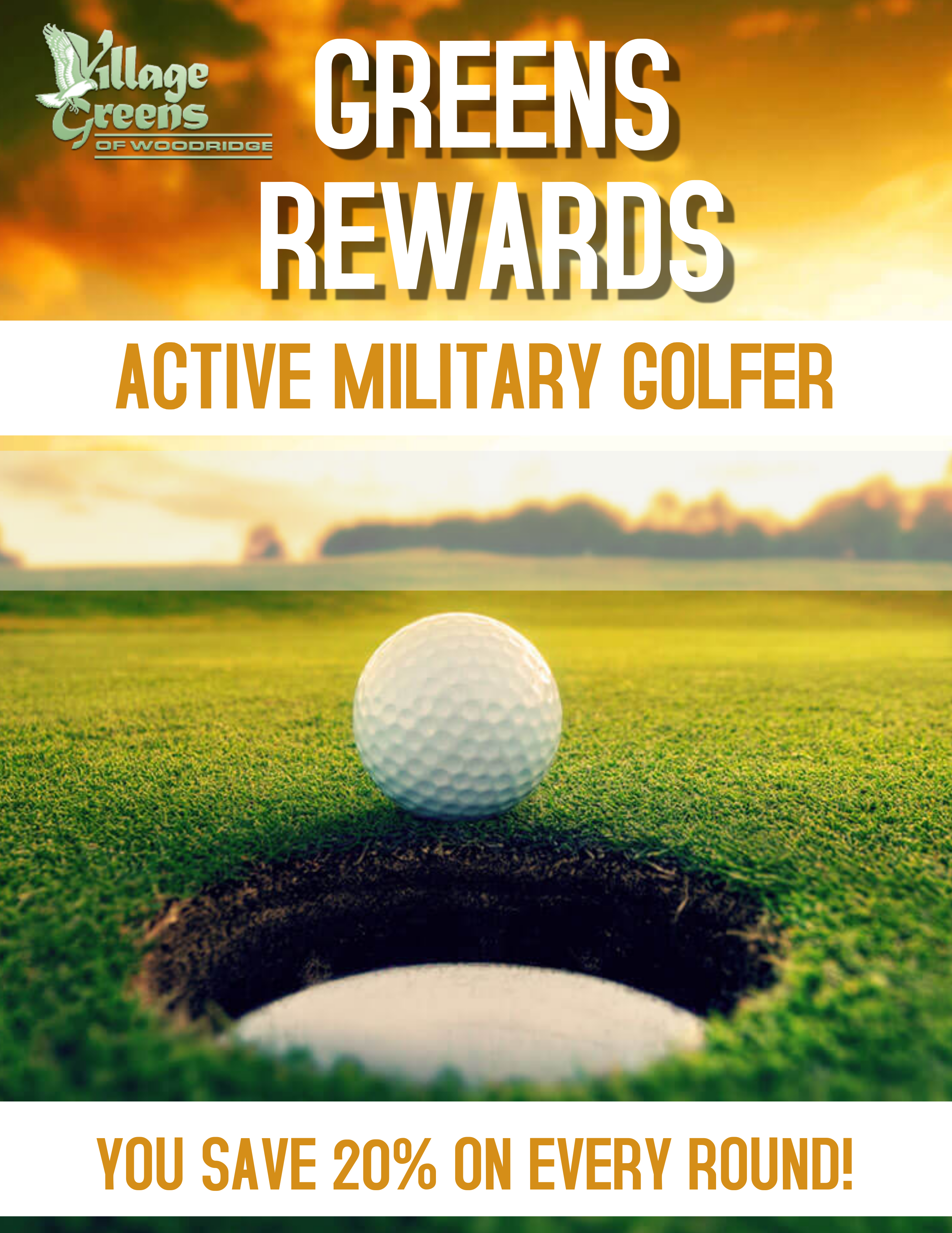 Greens Rewards Active Military
